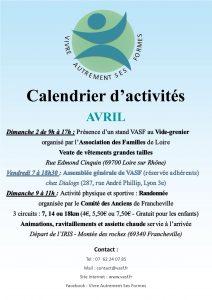 Flyer_VASF_Calendrier Avril